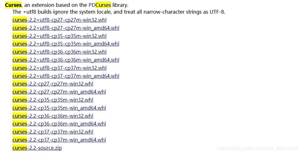 Python:ModuleNotFoundError: No module named '_curses - Programmer