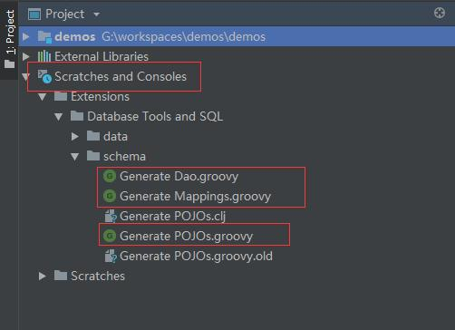 Idea + groovy + mybatis automatically generates Dao
