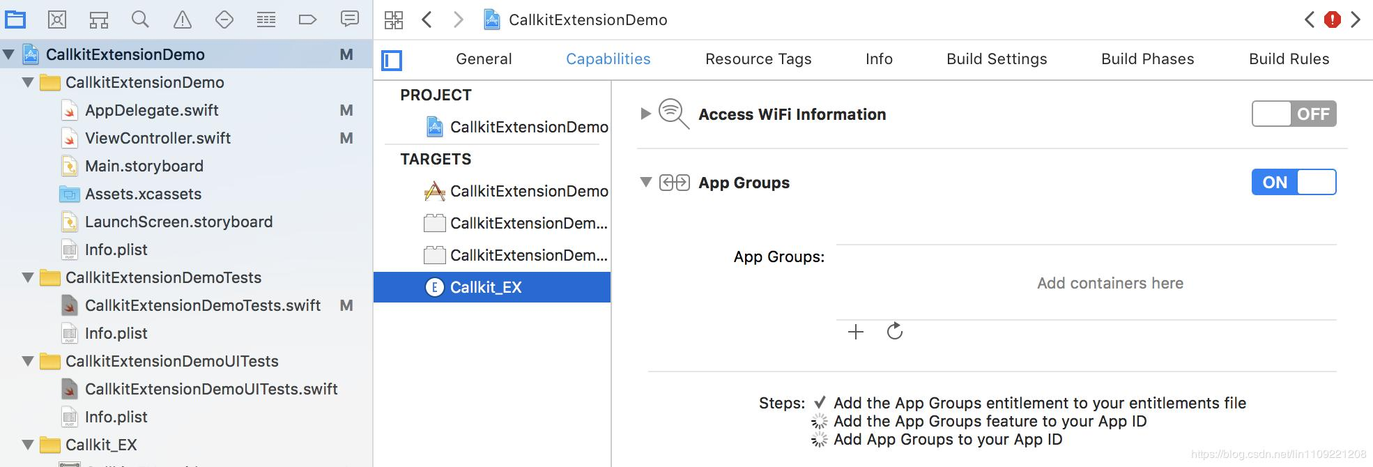 Swift Callkit extension - caller tag - Programmer Sought