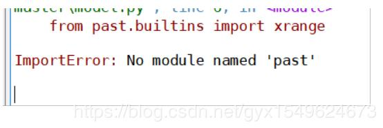 Import error in spyder: no module named 'past' solution