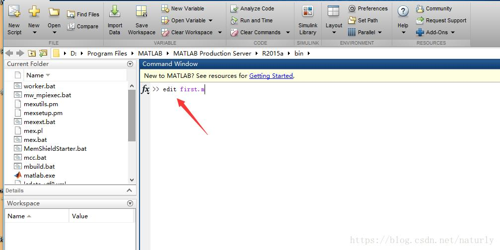 MATLAB ----M M file creation and opening (4) - Programmer Sought