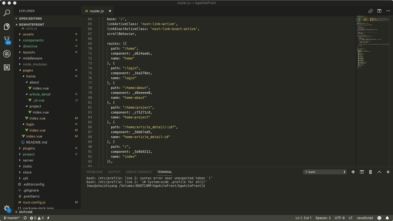 Nuxt js practice articles - Programmer Sought