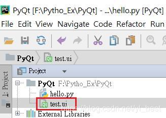 Select File Pyqt5