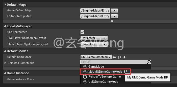UE4]C++ operation UMG Widget instance (demo, example, example