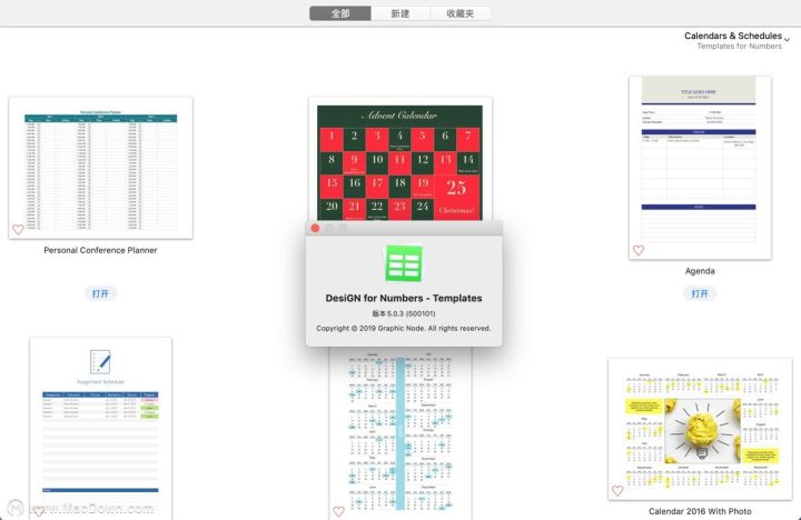 Templates In Numbers For Mac