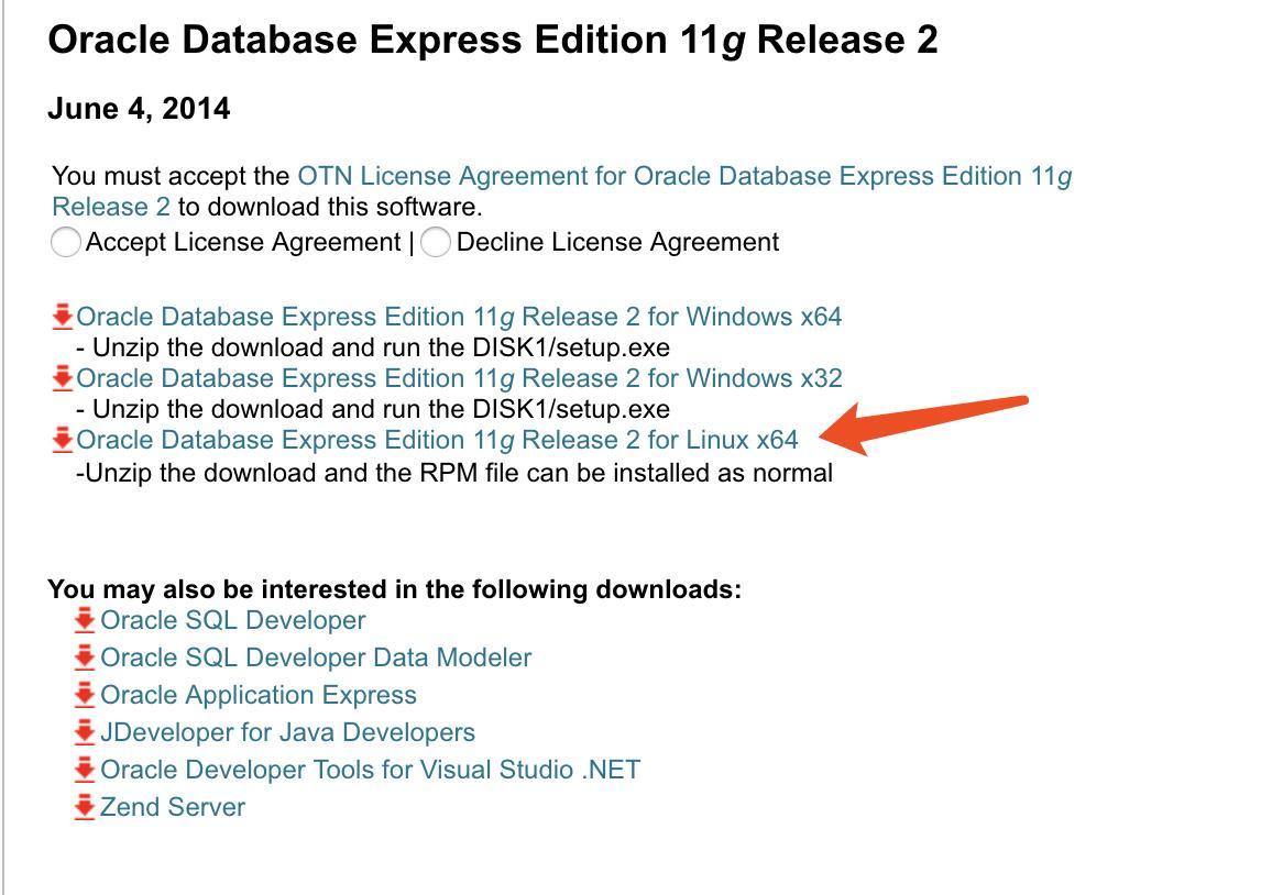 Docker Oracle 11g