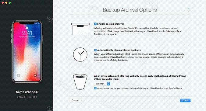 iMazing Mac version (iOS device management software) crack