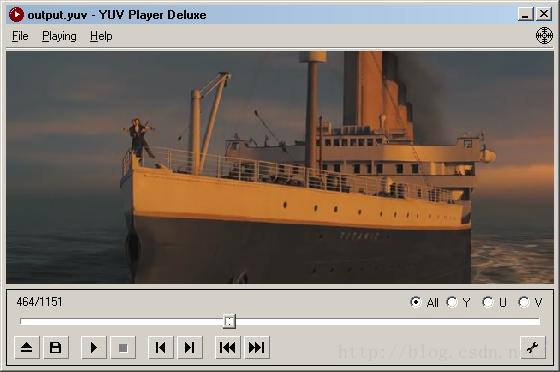 The simplest FFMPEG+SDL based video player Split-decoder and player