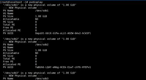 Linux study notes (lvm pv physical volume -> VG volume group