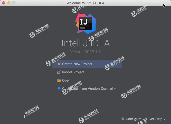 IDE integrated development software] IntelliJ IDEA CE 2018