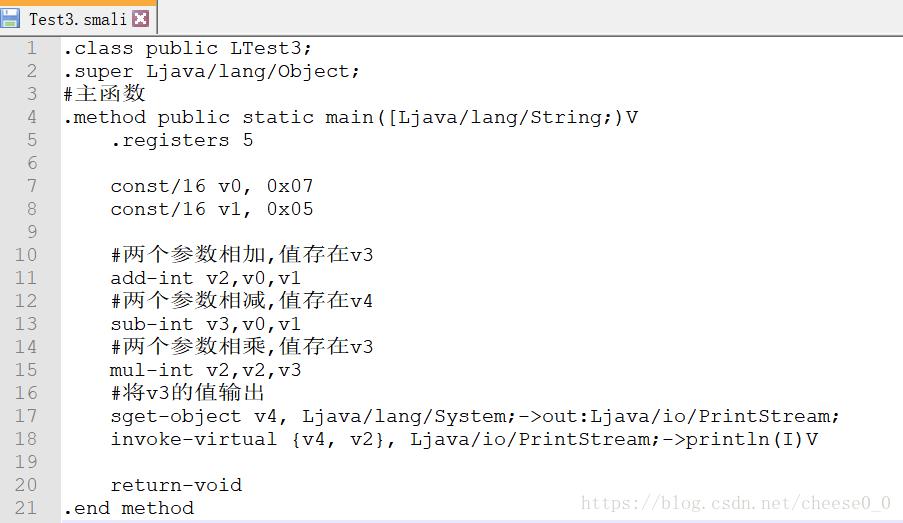 Dalvik instruction set exercises and smali file writing - Programmer