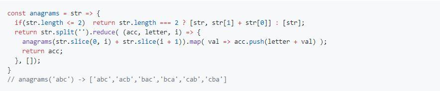 Github share: 48 JavaScript snippets that can be understood