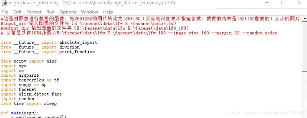 FaceNet source usage and explanation details - Programmer Sought