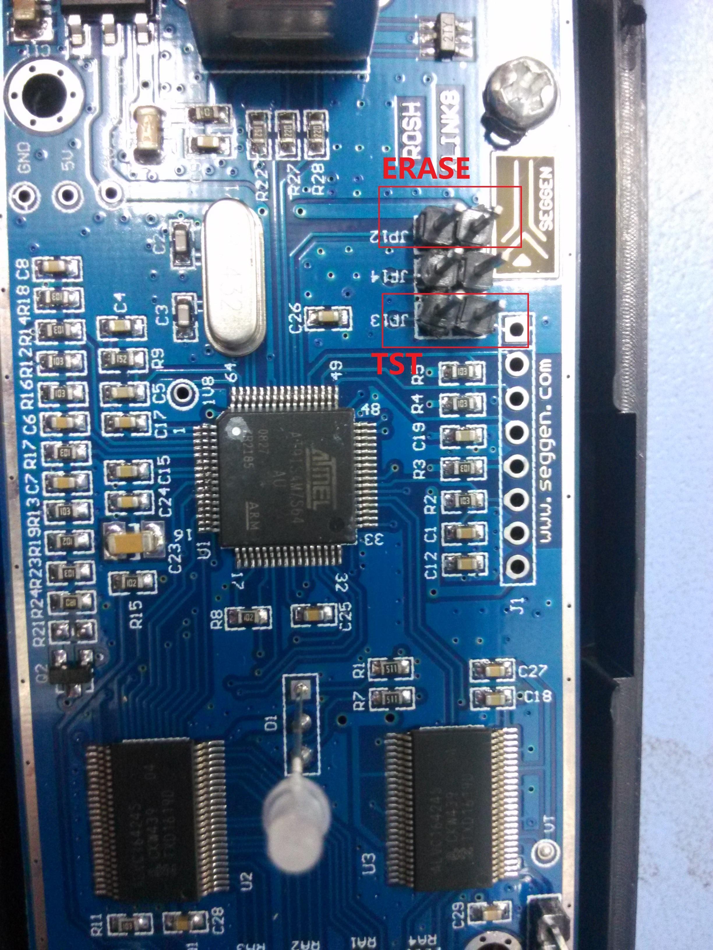 Switch] JLink re-flashing firmware (win7/win8/win10 pro test