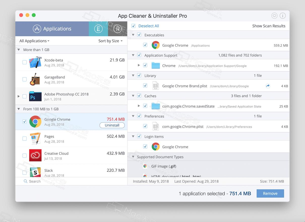 App Cleaner & Uninstaller Pro Mac (Uninstall Cleanup Software