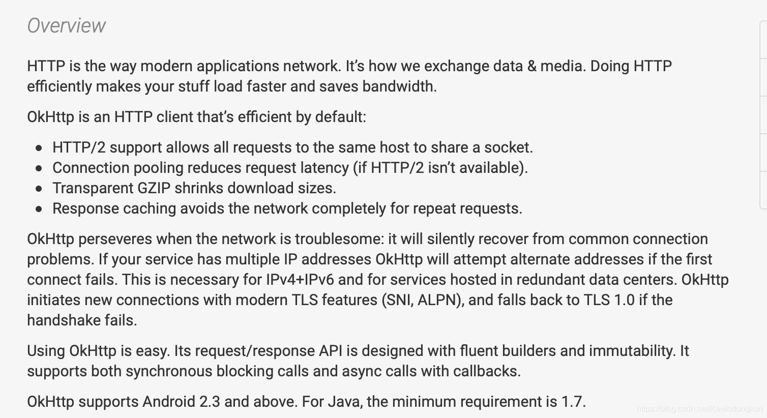 Android advanced: network request - OkHttp get, post request