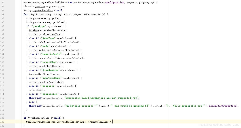 The underlying implementation of TypeHandler in Mybatis