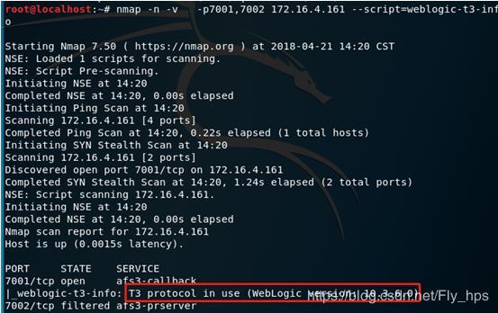 WebLogic Deserialization Vulnerability CVE-2018-2628