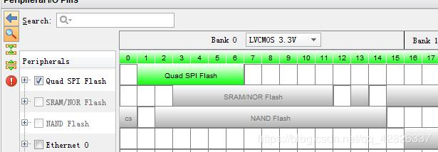 Xilinx-ZYNQ7000 Series - Study Notes (5): Set EMIO and cure to QSPI