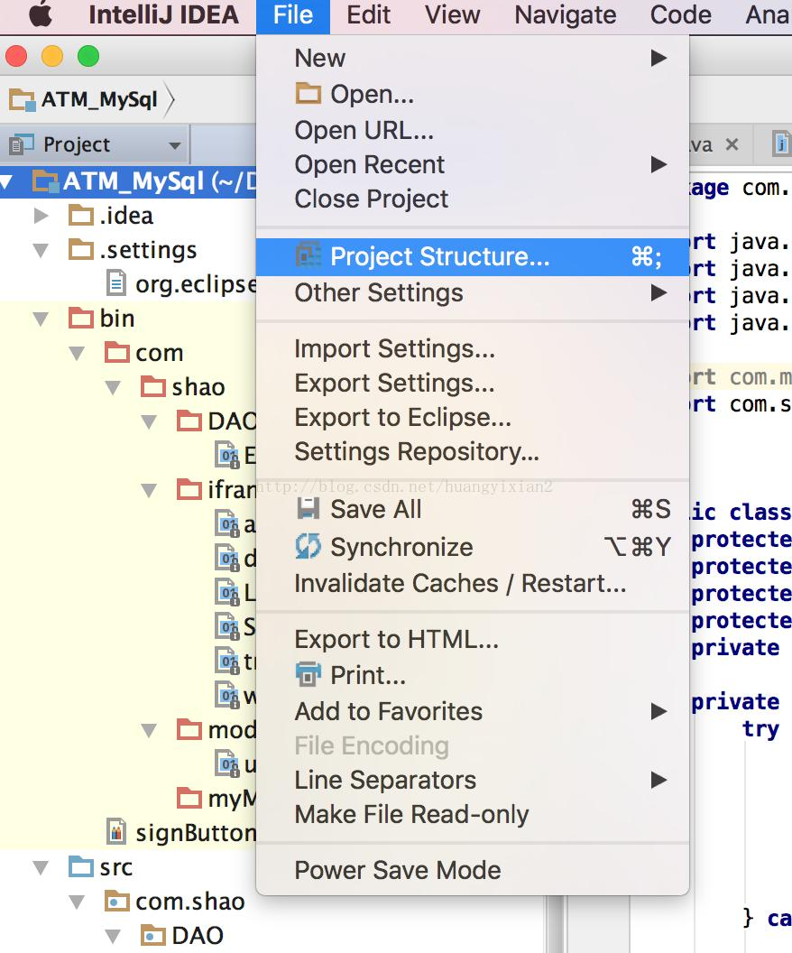 IntelliJ IDEA imports mysql-connector-java-5 1 44-bin jar
