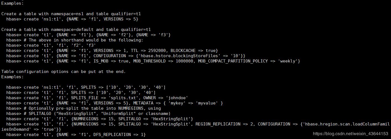 Hbase summary - Programmer Sought