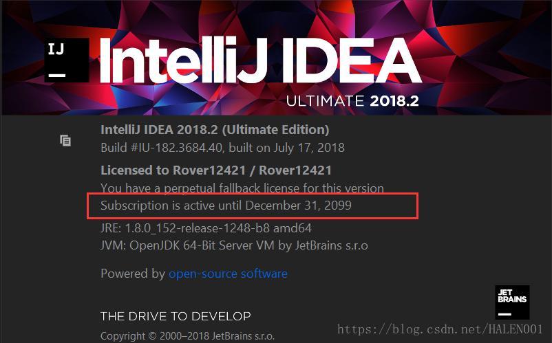 activation license intellij