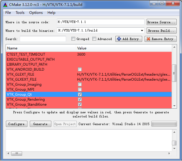 VTK7 1 1+VS2017+QT installation and configuration - Programmer Sought