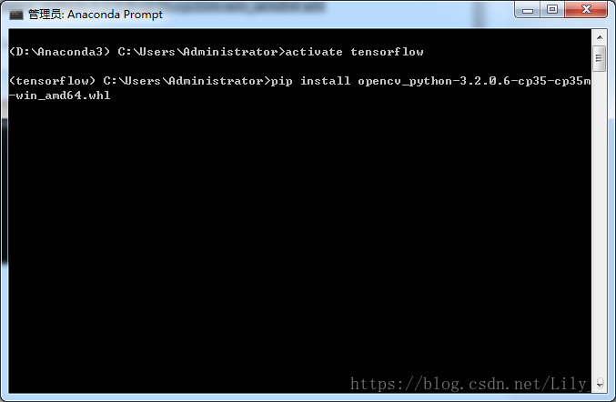 Import cv2 ImportError: DLL load failed: The specified