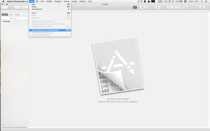 The easiest Hopper Disassembler to play with Mac reverse