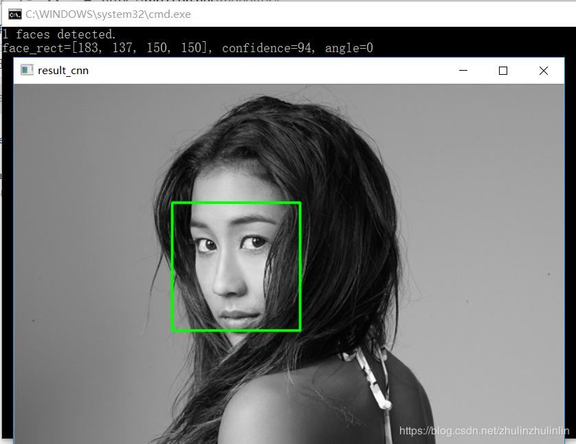 Yu Shiqi open source library libfacedetection+vs2017 configuration