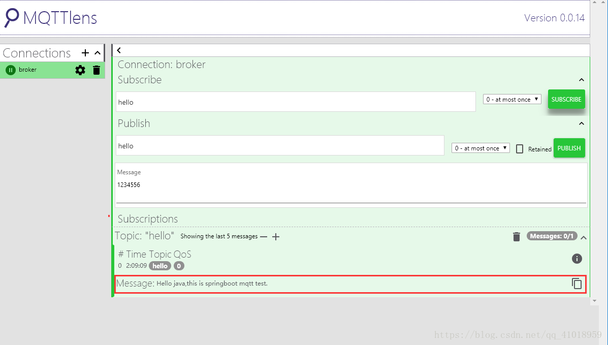 Springboot integrates MQTT - Programmer Sought