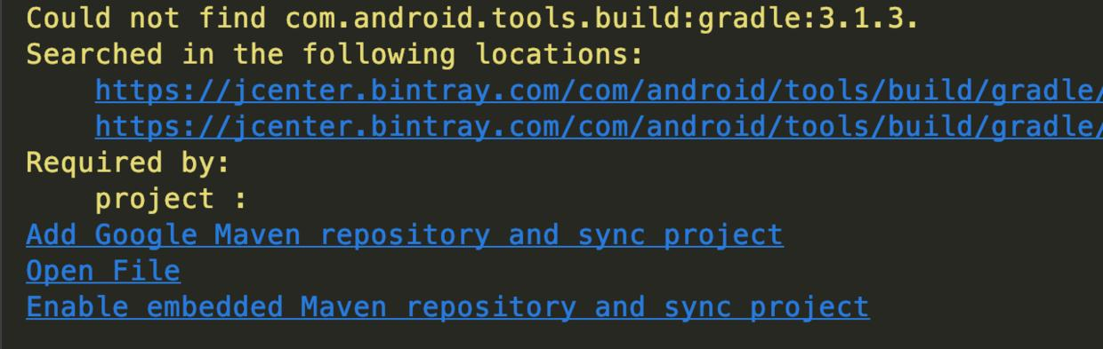 Android Studio project Gradle upgrade experience summary