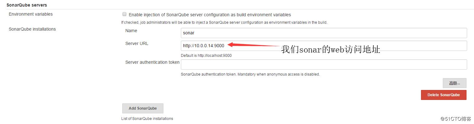 Continuous integration of Jenkins integration sonar code