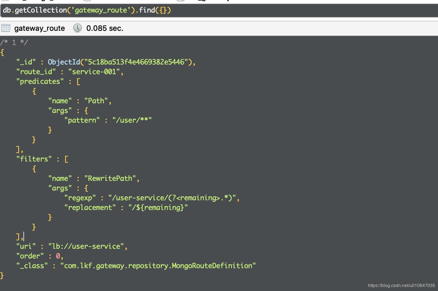 Spring Cloud Gateway (13): Dynamic routing based on MongoDB