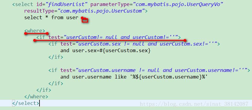 frame] mybatis--dynamic sql - Programmer Sought