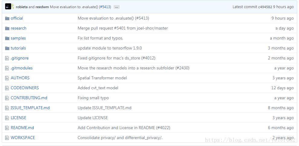 Tensorflow's models module is used - Programmer Sought