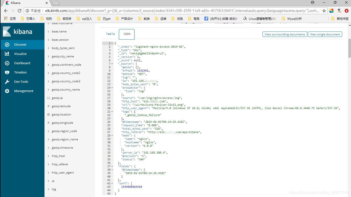 The whole network - ELK build tutorial (Filebeat+redis+