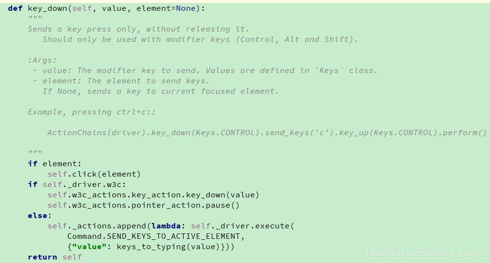 Python+Selenium automated test 4  ActionChains mouse, keyboard