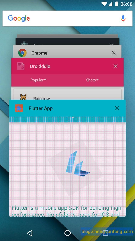 Material App for Flutter Controls - Programmer Sought