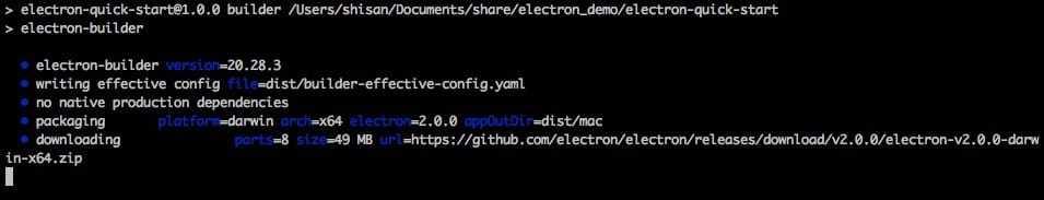 Electron - Programmer Sought