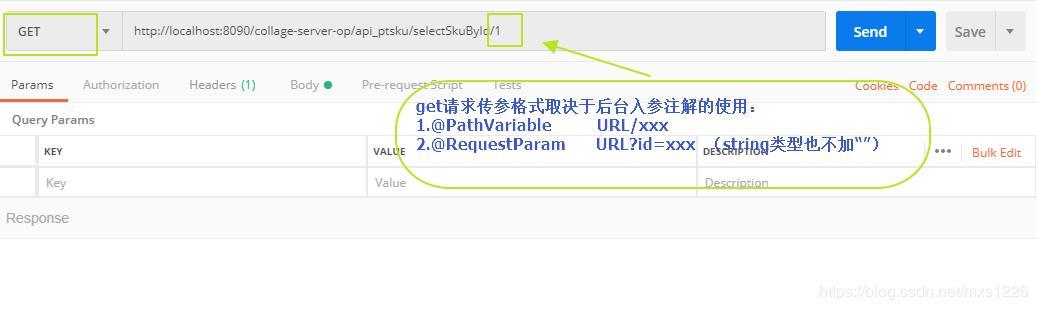 Postman request get, post way - Programmer Sought