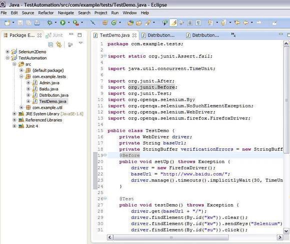 web test automation test / QTP / IBM RFT / Selenium IDE