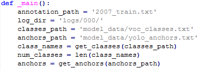 Keras-yolov3 training and test detailed - Programmer Sought