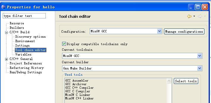 C development tools: eclipse+cdt+mingw - Programmer Sought