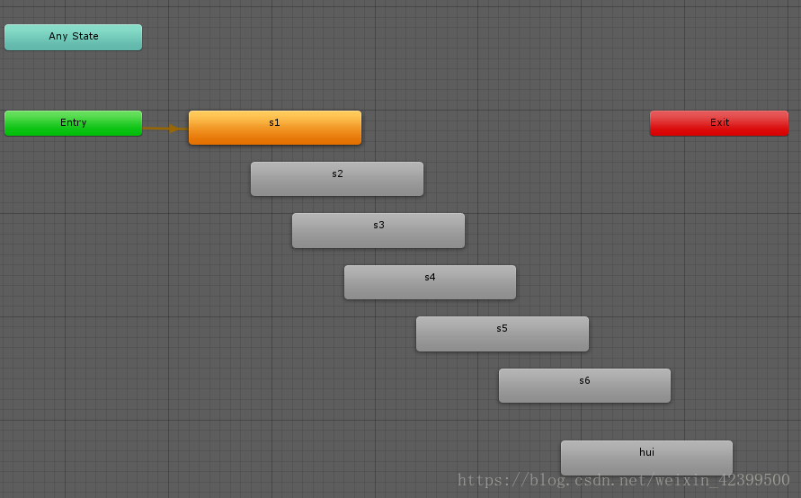 Unity animator plays, pauses, and judges that playback is