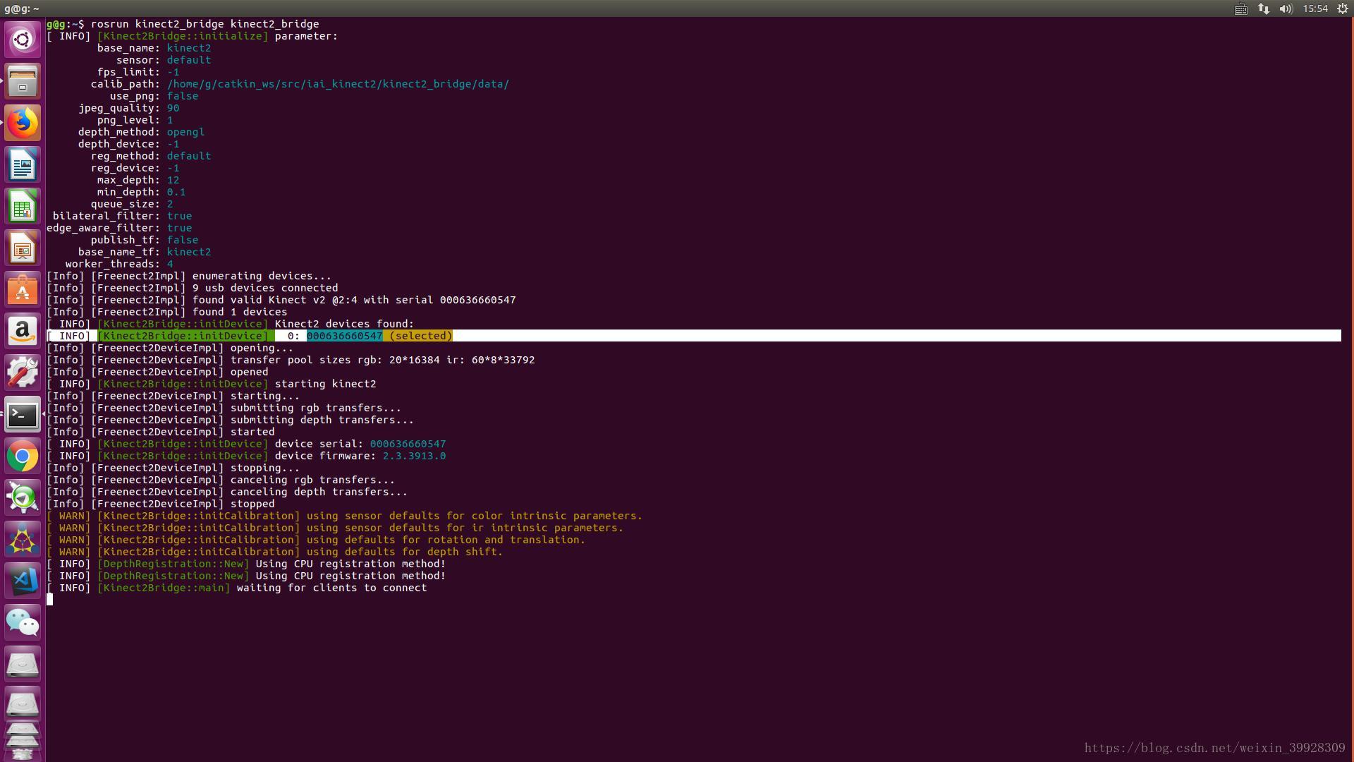 Ubuntu kinect v2 camera calibration - Programmer Sought