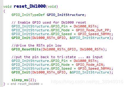 UWB ranging debugging based on DWM1000 (1) - Programmer Sought