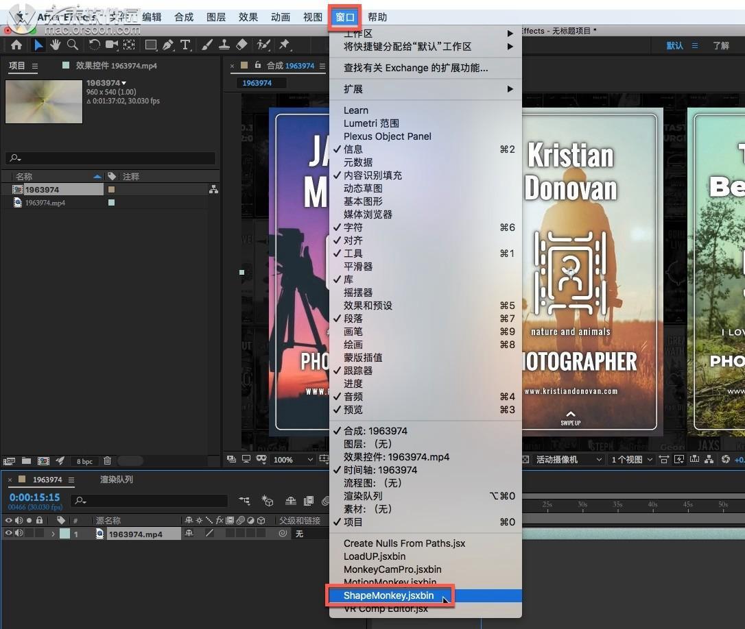 MG animation graphics change AE script shapemonkey mac version