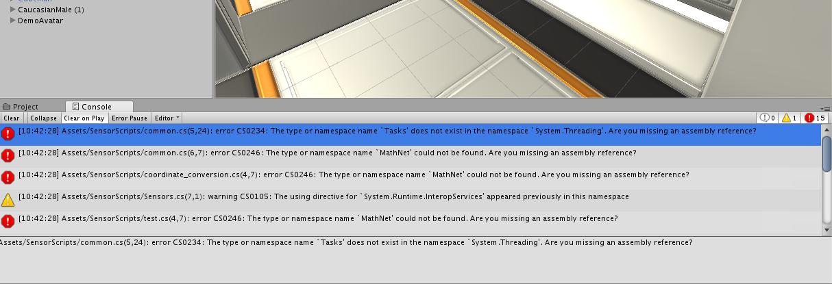 Unity 3d Error Cs0234 The Type Or Namespace Name Does Not Exist In The Namespace Solution Programmer Sought