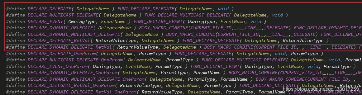 UE4 Delegate (agent) related source code analysis (1